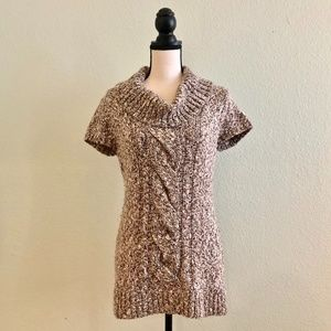 INC Int'l. Concepts Cowl Neck Marled Knit Tunic MP